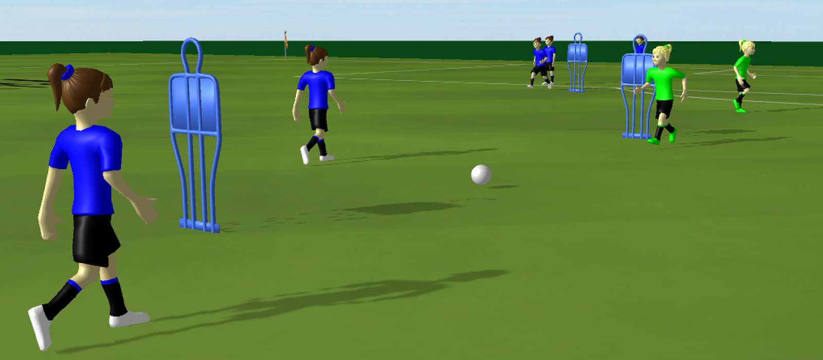 3D Soccer Training